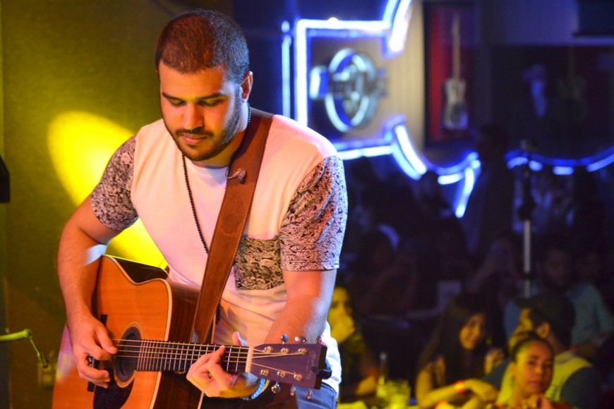 Pamel en escenario