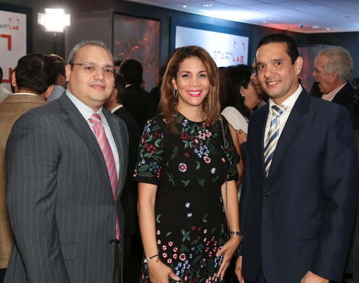 11 Radhames Mateo, Mabel Lugo y Miguel Puente