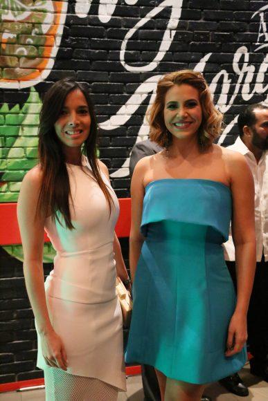 Giselle Escaño y Pamela Sued