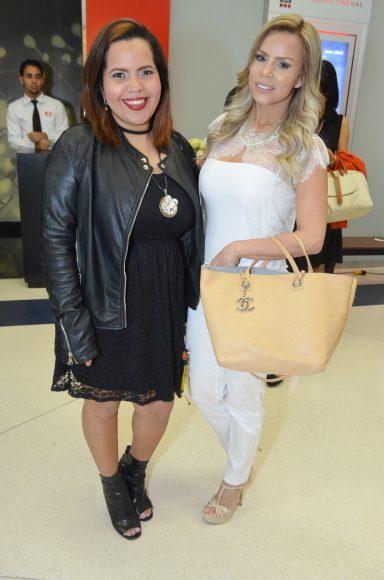 Mariell Araujo y Heidy Villa