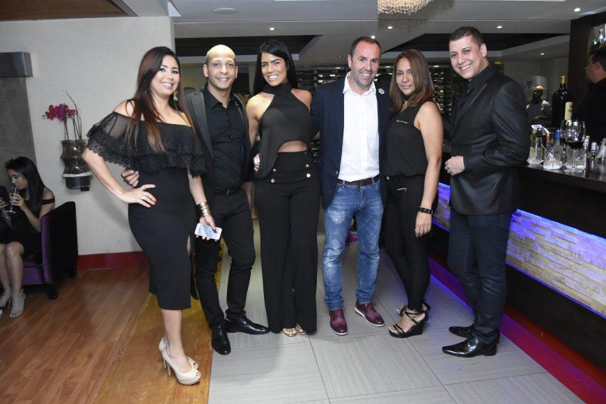Melissa Guzman, Rene Castillo, Ibelka Ulerio, Jose Cristobal Callado, Geicha Rivas y Rafael perez