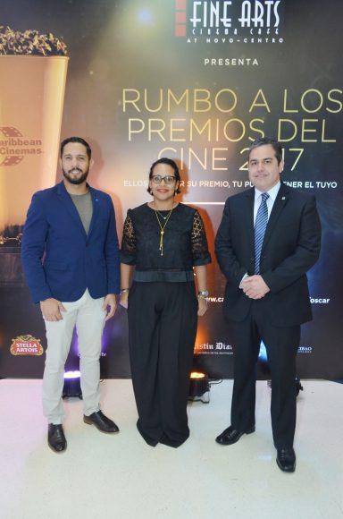 Pedro Pineyro, Zumaya Cordero, Paul Soto