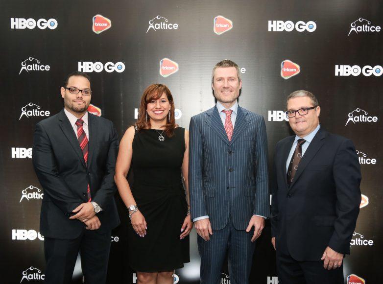 1.Manuel Mueses, Rosario Veras, Martin Roos y Javier Figueras