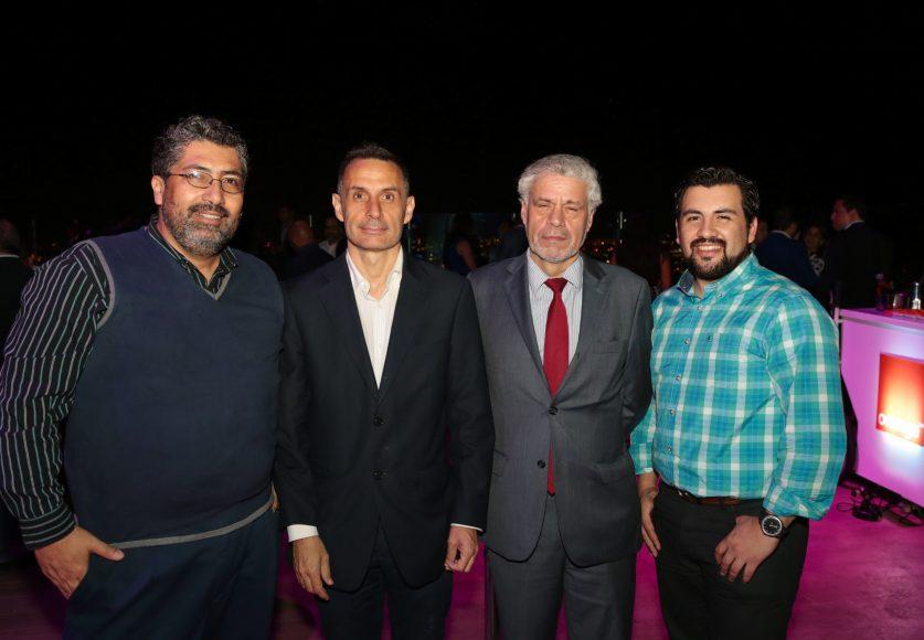 10 Miguel Vega, Alberto Labadia, Antonio Trujillo y Mauricio Franco