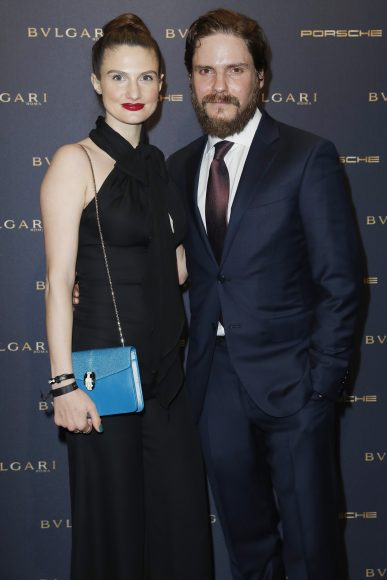 BERLIN, GERMANY - FEBRUARY 09:  Daniel Bruhl and  Felicitas Rombold attend the Bulgari 'Night of the Legend' event during the 67th Berlinale International Film Festival on February 9, 2017 in Berlin, Germany.  (Photo by Franziska Krug/Getty Images for Bulgari) *** Local Caption *** Daniel Bruhl, Felicitas Rombold
