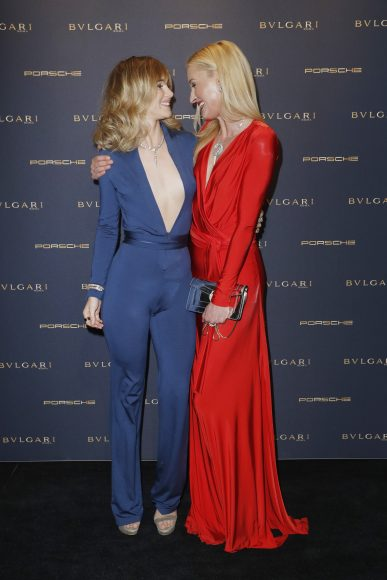 BERLIN, GERMANY - FEBRUARY 09:  Suki Waterhouse and Lilly Sayn-Wittgenstein-Berleburg attend the Bulgari 'Night of the Legend' event during the 67th Berlinale International Film Festival on February 9, 2017 in Berlin, Germany.  (Photo by Franziska Krug/Getty Images for Bulgari) *** Local Caption *** Suki Waterhouse, Lilly Sayn-Wittgenstein-Berleburg