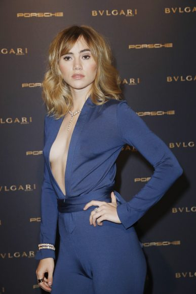 BERLIN, GERMANY - FEBRUARY 09:  Suki Waterhouse attends the Bulgari 'Night of the Legend' event during the 67th Berlinale International Film Festival on February 9, 2017 in Berlin, Germany.  (Photo by Franziska Krug/Getty Images for Bulgari) *** Local Caption *** Suki Waterhouse