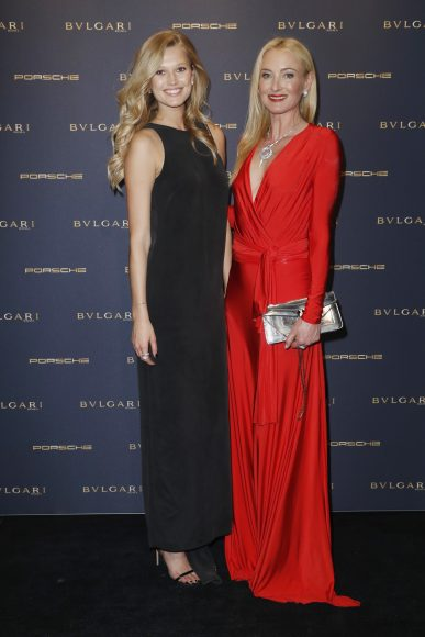BERLIN, GERMANY - FEBRUARY 09:  Toni Garn and Lilly Sayn-Wittgenstein-Berleburg attend the Bulgari 'Night of the Legend' event during the 67th Berlinale International Film Festival on February 9, 2017 in Berlin, Germany.  (Photo by Franziska Krug/Getty Images for Bulgari) *** Local Caption *** Toni Garn, Lilly Sayn-Wittgenstein-Berleburg