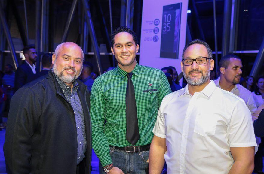 12 Danny Lantigua , Milton Peguero e Hipolito Delgado