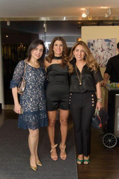 3. Sandra Seleben, Roxanna Rizek y Clodet Elias de Khoury
