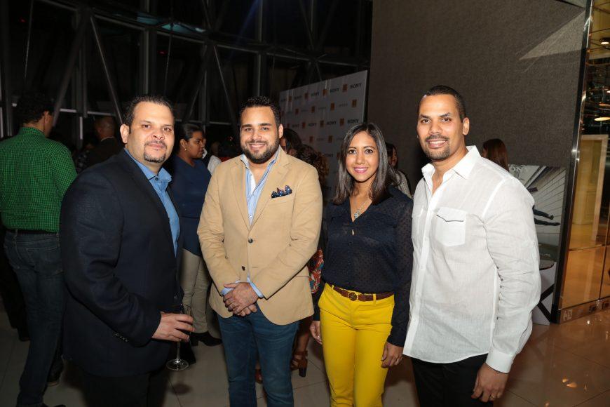 4 Jose Antonio Morales , Alexander Cifre, Gisselle Brugal y Luis Felipe Lerebours