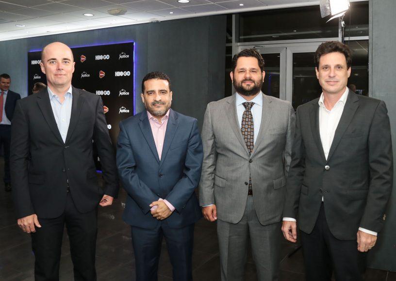 4 Nicolas Mattle, Gabriel Tellerias, Christian Fuentes y Jean-Charles Nicolas