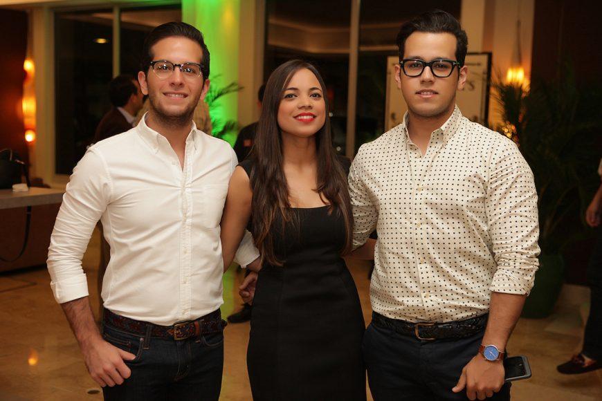 5 - Ernesto Geara, Michelle Menéndez y Luis Sánchez
