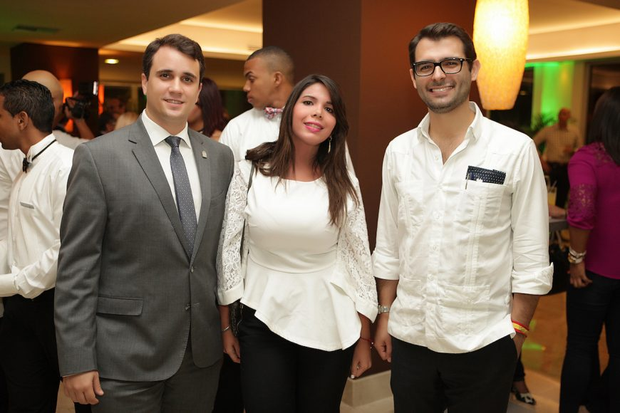 8 - David Lougedo, Patricia Sang y Javier Rodríguez