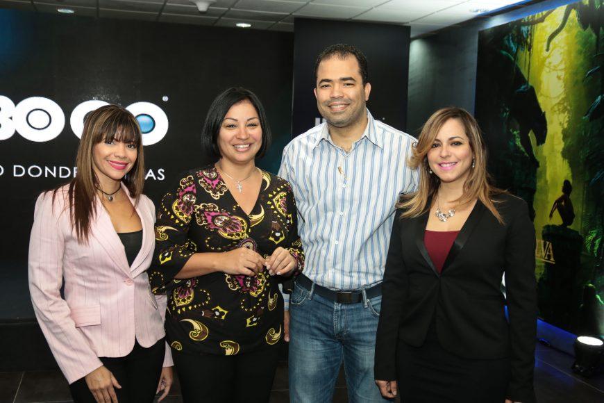 8 Ingrid De La Rosa, Carol Perez, Affe Gutierrez y Sarah Pepen