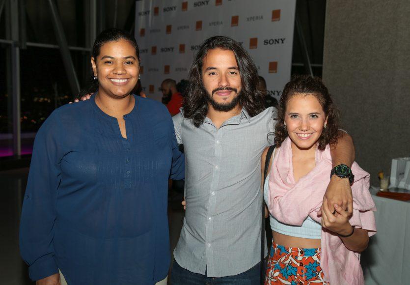 9 Anina Rodriguez, Ariel Contreras y Carla Faxas