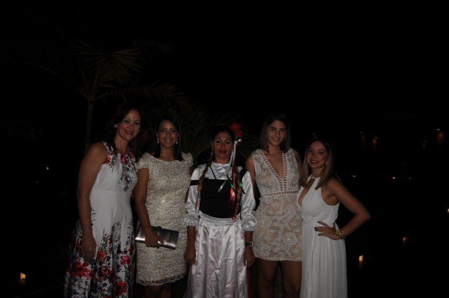 Fátima Abreu, Thelma Álvarez, Gabriela Amezquita y Karla García