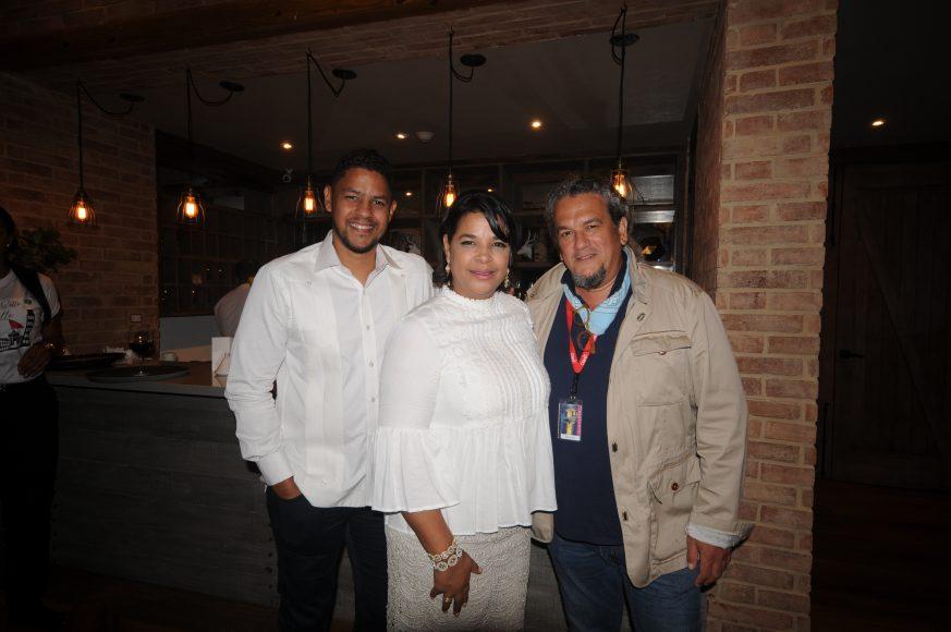 Héctor Aníbal, Yvette Marichal y Juan Basanta