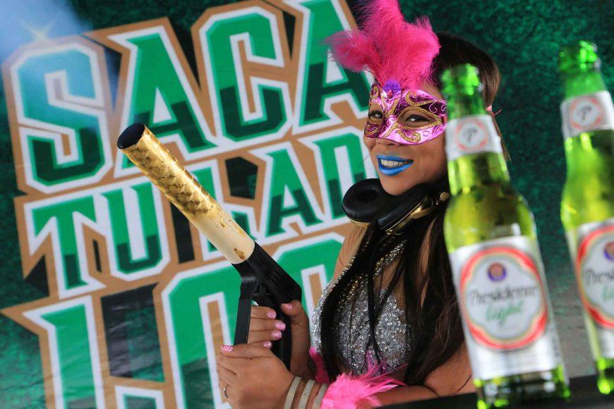 Presidente refrescó el carnaval