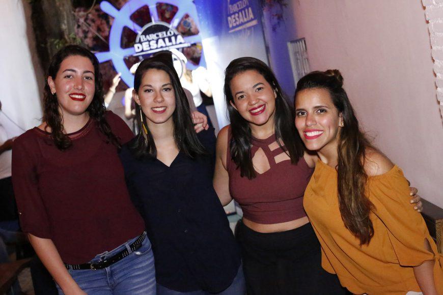 10. Elba Bencosme, Katherine Ortiz, Nasha Lama y Marielle Mera