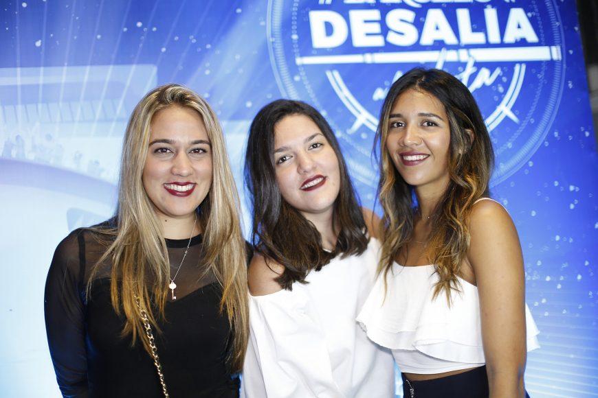 6. Anabelle Frias, Claudia Subero y Andrea Peralta