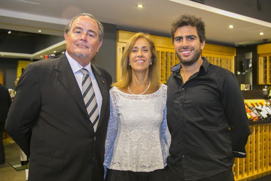 9 Embajador de Chile, Fernando Barrera_ Paulina y Sebastián Barrera