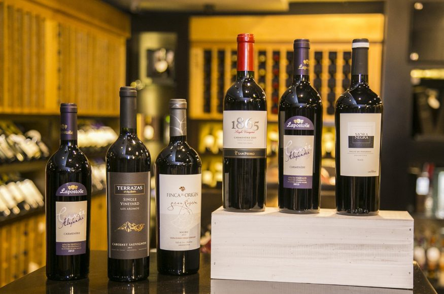 Algunos de los vinos que formarán parte del Open House