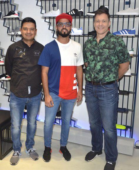Foto Principal 1 Edgar Bermúdez, Oswald Quintero y David Smith