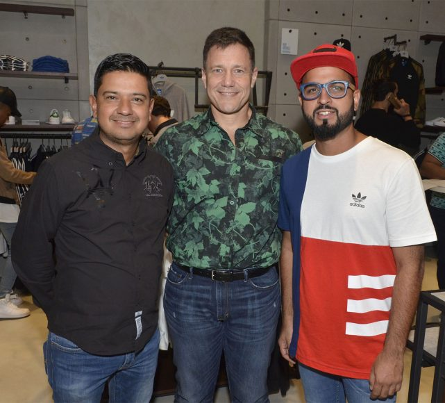 Foto Principal 2 Edgar Bermúdez, David Smith y Oswald Quintero