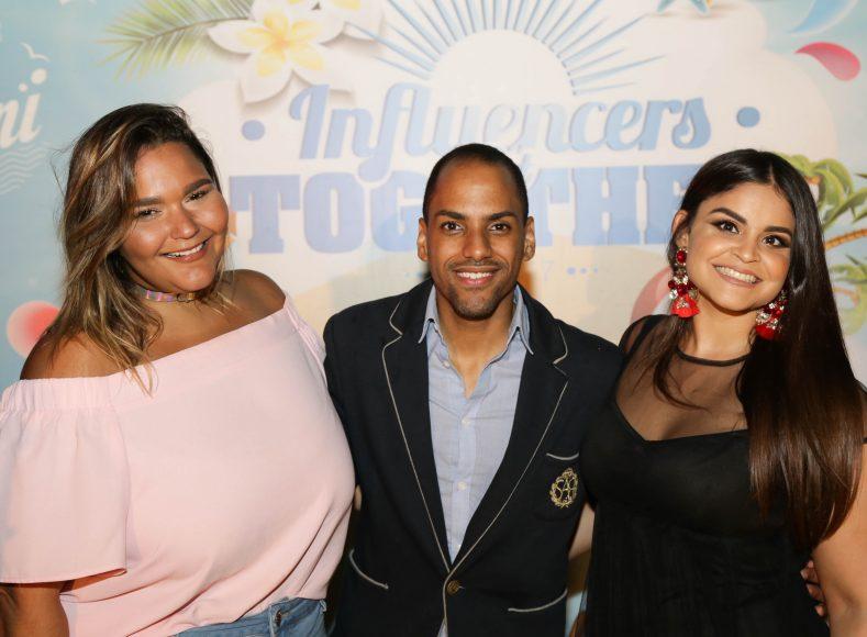 Jeniffer Guzmaìn, Rauìl Cohen y Anamiìa Abreu