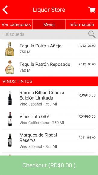 Opciones Liquor Store