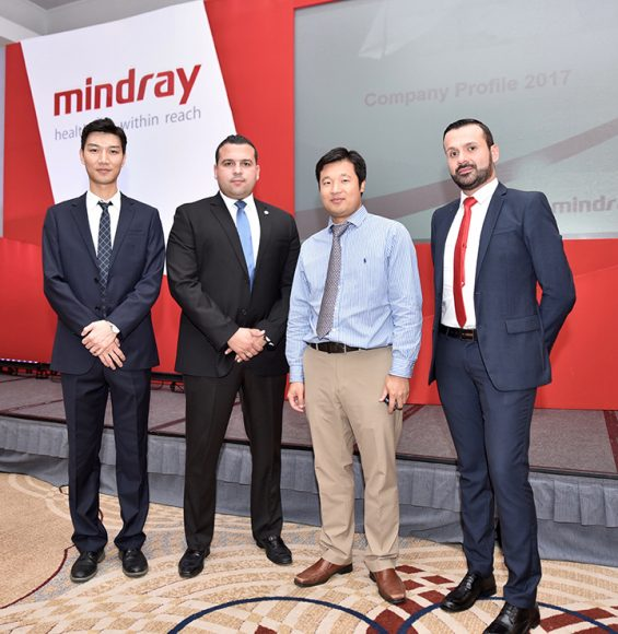 Shuo Wang, Fernando Huo, Alvaro Martínez y Jorge Toro Ospina