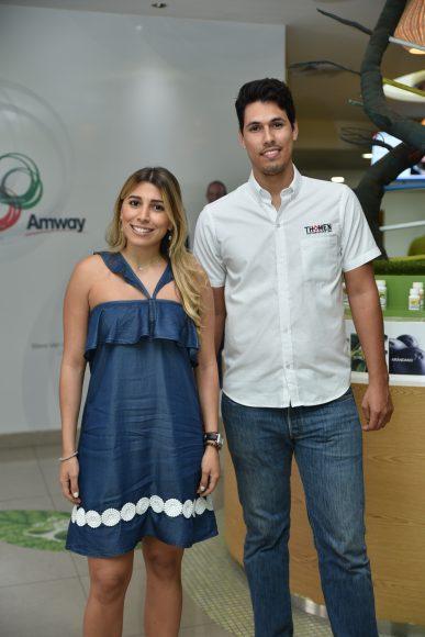 10. Sabrina Rodríguez y Rodrigo Paguaga.