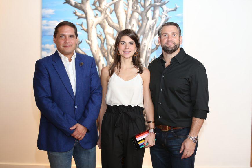 2. Gustavo García, María Vidal y Eduardo Najri