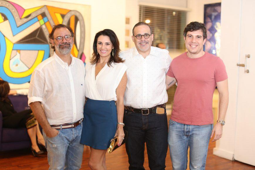 4. Alessandro Loi, Jessica Miranda, Juan Carlos Rodríguez y Octavio de Lemos