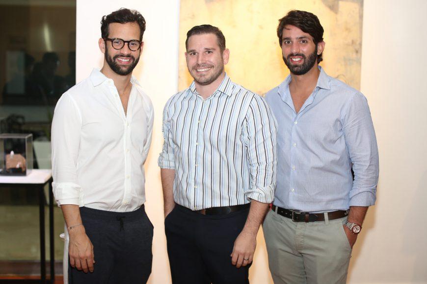 7. Jorge Brown, Miguel López y Samuel Castellanos
