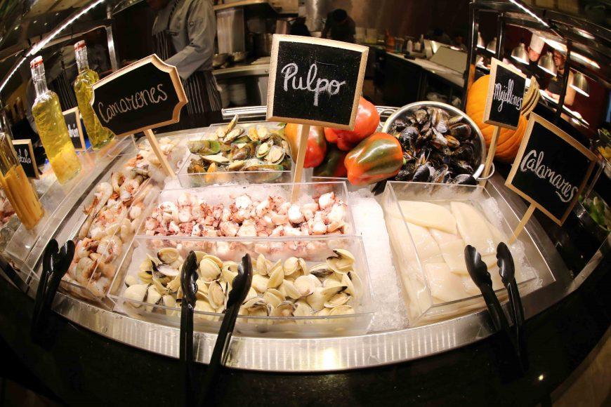 La actividad ofrece una exquisita selección de pescados y frutos del mar (1)