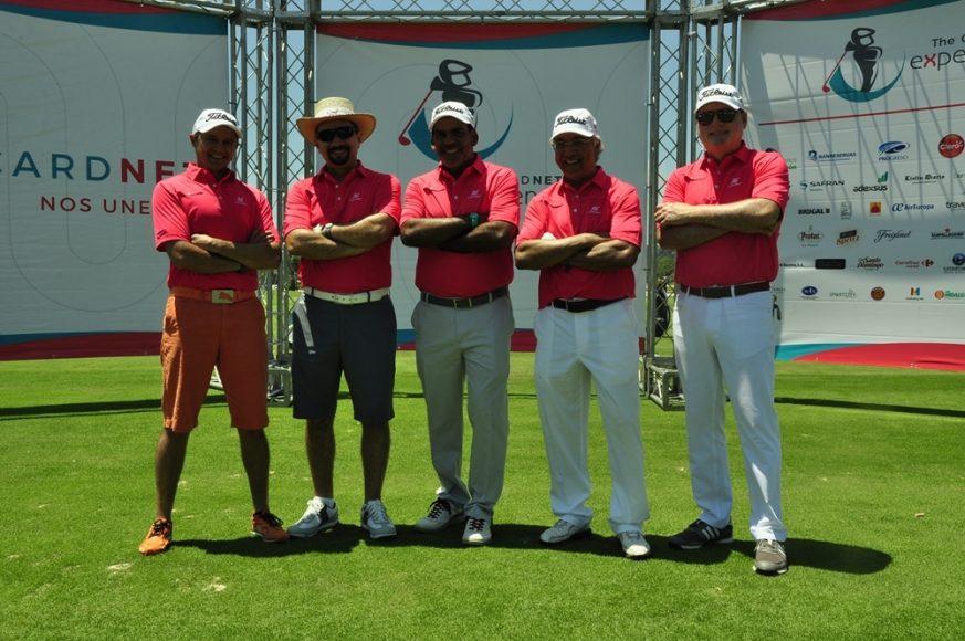 PRINCIPAL Guillermo Rospigliosi, Oscar Peña, Sr. Luis Bencosme, Eddy Martinez, Alejandro Peña. (Copiar)