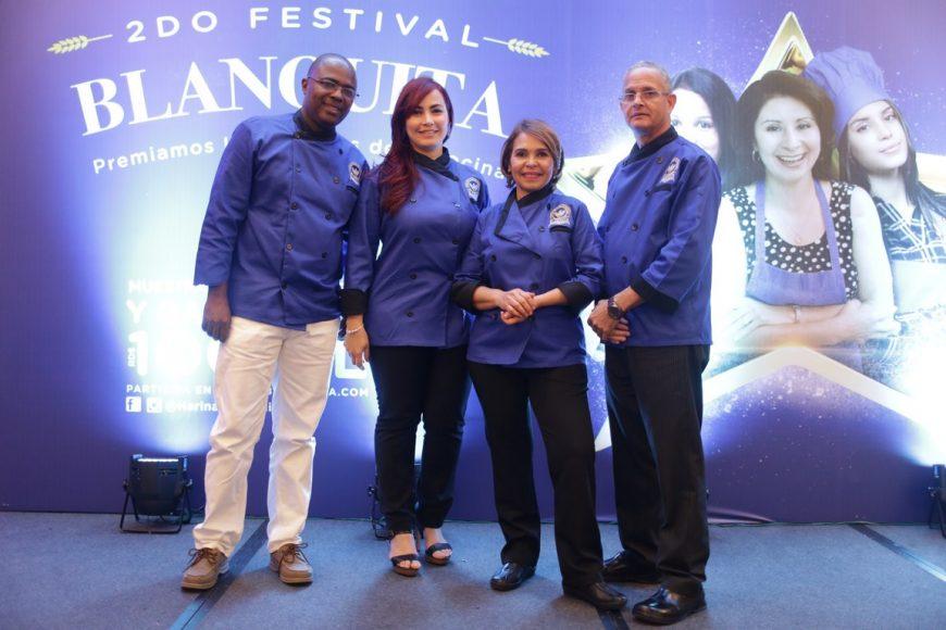 Rafael Torres, Solange Cid, Jacqueline Henríquez y Anastacio del Rosario