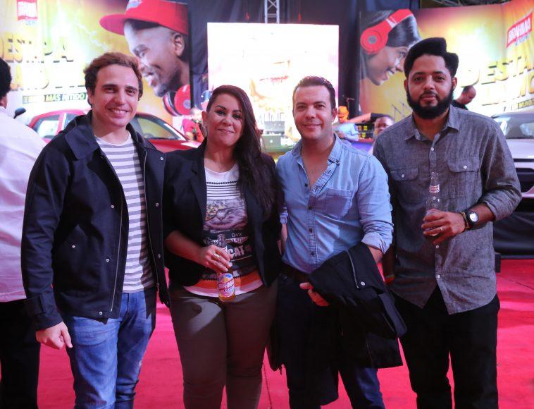 a. Jaime Viñas, Neni Beyond, Francisco Caamaño y Gabriel Lantigua
