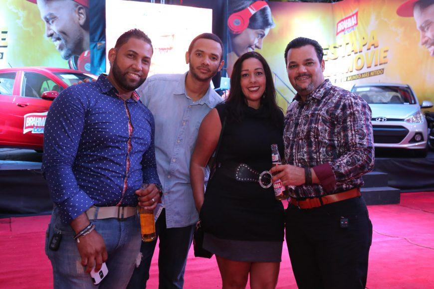 d. Richard Lantigua, Miguel Polanco, Sandra Báez y Amaury Pérez