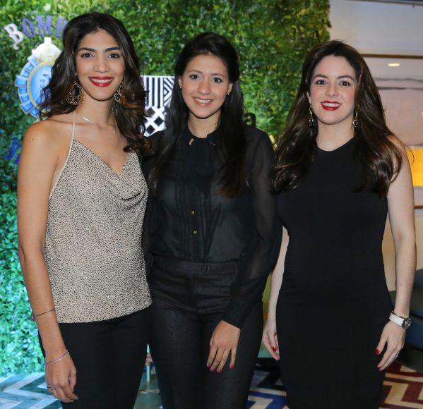 1. Daniela Cruz, Emily McDougall y Loren Lama