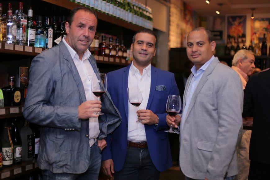2 Jose Cristobal Callado, Jairo Ulerio y Manuel Bueno