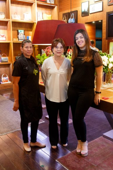 2 Yoli Jiménez, Olga Abbott y Ana Rodríguez