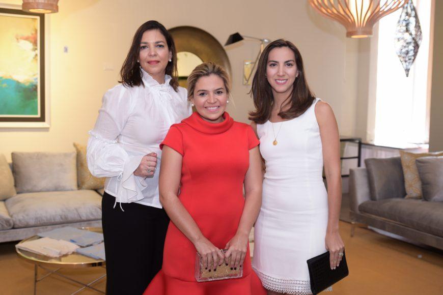 3. Ileni Jorge de García, Maria Teresa Mejía y Mauricia Álvarez de Campos
