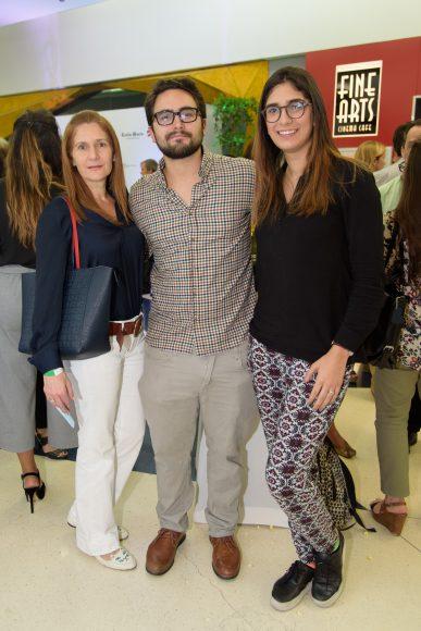 4. Maribel De Hazim, Fernando Pernas y Yamilé Hazim