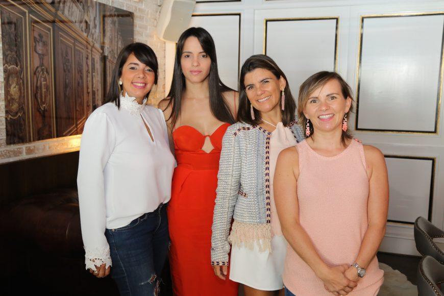 5. Elizabeth Molina, Luana Gonzáles, Melita Aguilar y Verena G.