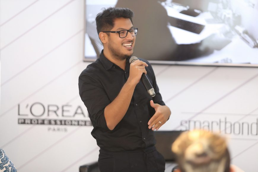 5. Frank Diaz, artista internacional para L'Oreal Professionel