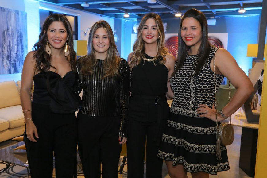 5. Marigot Haché, Adriana Álvarez, Ana Prota de Vidal y Fanny Veras