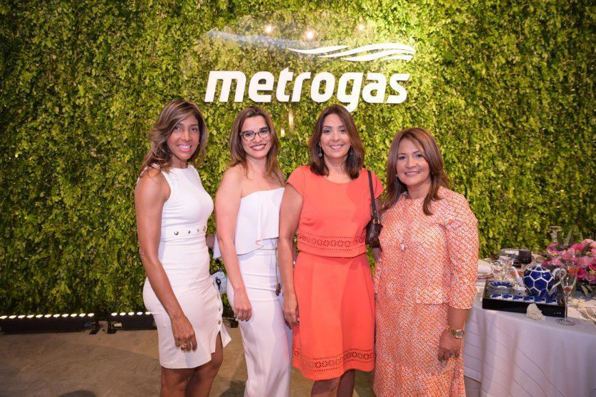 6. Dulce Muñoz, Elsa Jiménez de Grullón, Lisa Jorge de Polanco y Lisette Mejía